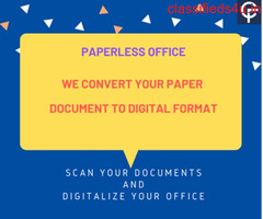 Document Scanning Digitization Service.