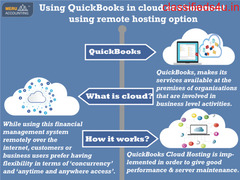 Using QuickBooks in cloud environment using remote hosting option