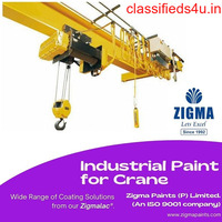 Industrial Paint for Crane