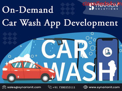 Develop Your On-Demand Car Wash App