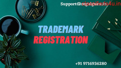 Getting Trademark Registration at Just Rs 5,999 @ 9716936280