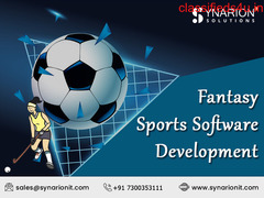 Build Your Own Fantasy Sports Software at Synarion IT