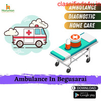 Just Call (1800-88-915-88)for Road Ambulance Service in Begusarai