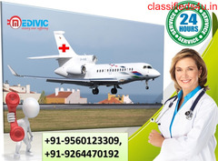 Obtain Hi-fi ICU Medical Solution Air Ambulance Services in Lucknow