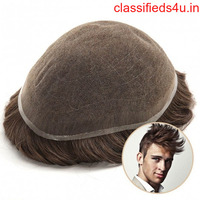 Thor Men's Lace Toupee Full French Lace Base Suitable for Humid Climate