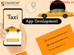 Build Your Own Taxi App Development With Synarion IT