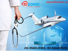 Take Advanced Medivic Air Ambulance Services from Bhopal to Mumbai