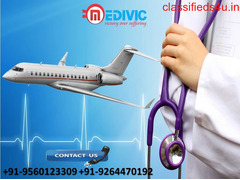 Use Perfect Medivic Air Ambulance Services from Chennai to Delhi