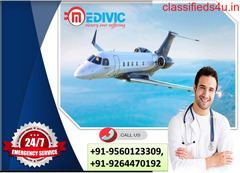 Instant Shifting by Medivic Air Ambulance from Delhi to Mumbai
