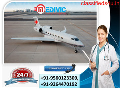Reliable Air Ambulance Services from Varanasi to Delhi by Medivic