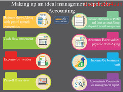 Making up an ideal management report for Accounting