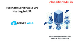 Purchase Serverwala VPS Hosting in USA