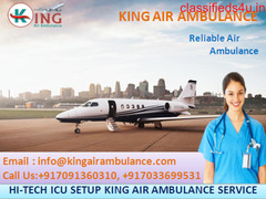 Relocate Patient by King Air Ambulance in Delhi to Get Treatment