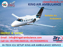 Best Patient Relocation Air Ambulance in Patna by King Ambulance