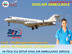 Now King Air Ambulance in Kolkata is Available for Relocate Patients
