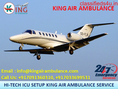 Air Ambulance Service in Bangalore with Medical Amenities by King Ambulance