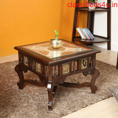 Teak Wood Center Table