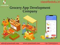 Get Online Grocery Store App Development Services