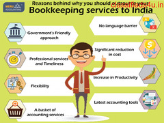Reasons behind why you should outsource your Bookkeeping services to India