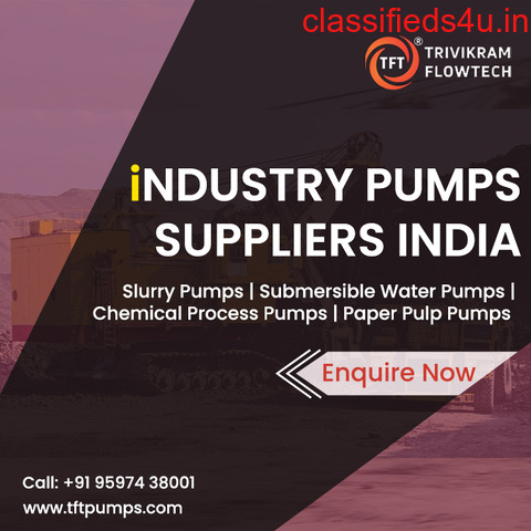 Pump Suppliers Coimbatore | Get Latest Price Submersible Water Pumps | tftpumps.com