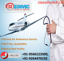 Utilize Special Air Ambulance Services in Gorakhpur by Medivic