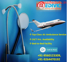 Hire Medivic Air Ambulance Services in Varanasi at Less-Price