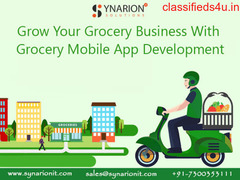 Amalgamate your Grocery business on App Development With Us