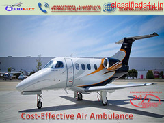 Gain Medilift Air Ambulance Service in Hyderabad without Extra Amount