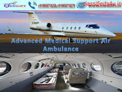 Medilift Air Ambulance Service in Jabalpur Offers Patient Care