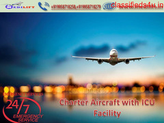 Patient Transfer Air Ambulance Service in Varanasi - Medilift