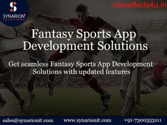 Develop Own Fantasy Sports App With Expertise Developer