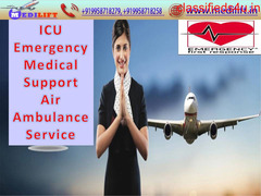Avail of the Fastest Air Ambulance Service in Guwahati