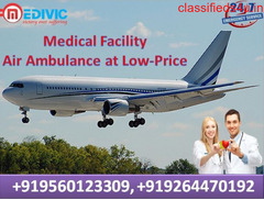 Marvelous Air Ambulance Chennai with Medical Facility by Medivic