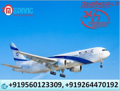 Book Medivic Air Ambulance Hyderabad with Classy ICU Facility