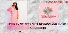 Chikan Suit Latest Design :: Lucknowi Chikankari