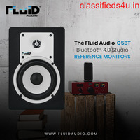 Fluid Audio C5BT – Bluetooth 4.0 Studio Reference Monitors