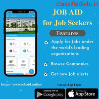 Search for Job Online with Jobaid App