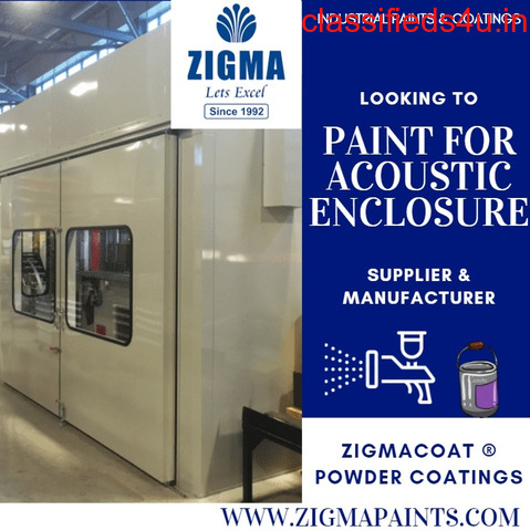 Looking to Paint For Acoustic Enclosure?