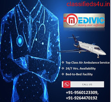 Get the Most Economical Air Ambulance Hubli by Medivic