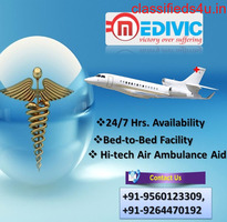 Unbelievable Medical Amenities by Medivic Air Ambulance Imphal