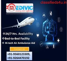 Utilize Excellent Life Savior Air Ambulance Jabalpur by Medivic