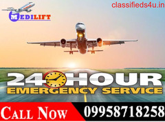 Avail Effective Air Ambulance in Delhi by Medilift at Low Fare