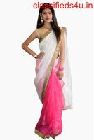 Buy Sarees Online at Rajkumari