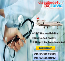 Get Admirable Air Ambulance Service in Indore by Medivic