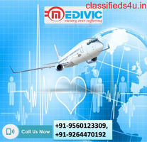Hire Urgent Hi-tech Air Ambulance Service in Lucknow by Medivic
