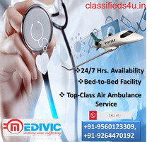 Choose Trouble-Free Air Ambulance Service in Varanasi by Medivic