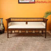 Three Seater Sofa in Teakwood