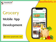 Bring Your Grocery Shop Online With Grocery Mobile App
