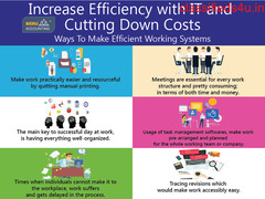Increase Efficiency with IT and Cutting Down Costs