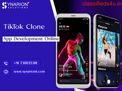 Get an Attractive TikTok clone app By Our expert developers